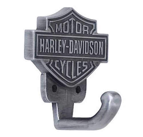 Harley-Davidson® Bar & Shield Hardware Hook HDL-10100 - Wisconsin Harley-Davidson