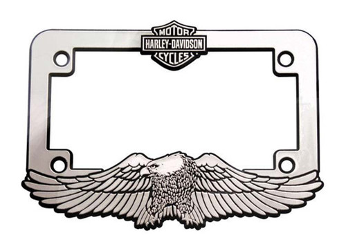 Harley-Davidson® Motorcycle Bar & Shield Eagle License Plate Frame ...