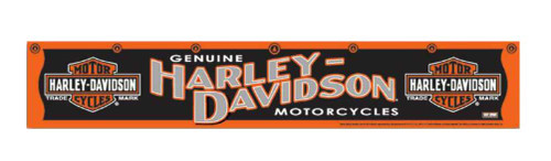 Harley-Davidson® Darts Throwing Line, Trademark Bar & Shield Line, Black 61951