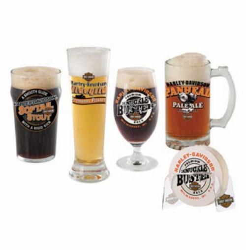 Harley-Davidson® Craft Beer Glass Gift Set, 4 Glasses HDL-18715