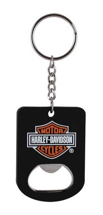 Harley-Davidson® Bar & Shield Bottle Opener Key Chain KY30230