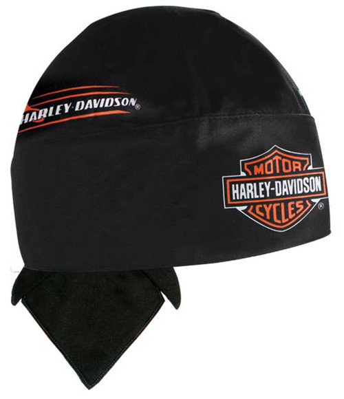 Harley-Davidson® Body Work Bar & Shield Black Head Wrap HW132330