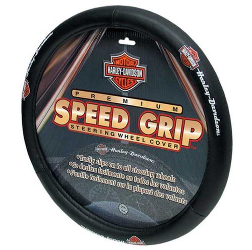 Harley-Davidson® Bar & Shield H-D Script Speed Grip Steering Wheel Cover P6393