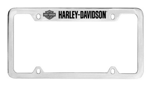Harley-Davidson® Bar & Shield H-D License Plate Frame Chrome HDLF18-U