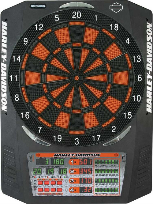 Harley-Davidson® Diamond Edge Electronic Dartboard 61965