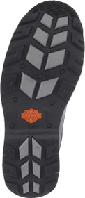 Harley-Davidson® Men's Bonham 6.25-Inch Blacked-Out Motorcycle Boots D93369 - Wisconsin Harley-Davidson