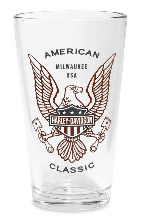 Harley-Davidson® American Classic Decal Icon Pint Glass, 16 oz. 96886-16V