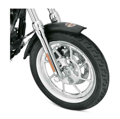 Harley-Davidson® Bar & Shield Small Front Fender Service Cover, Black 94643-08 - A