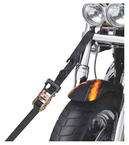Harley-Davidson® 1.5 inch Gradual Release Ratchet Tie-Down Straps 94706-10 - A