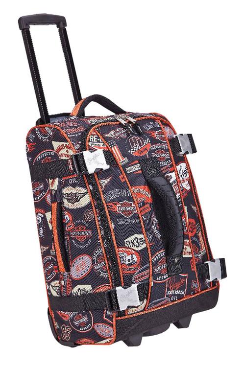 Harley-Davidson® 21 In Vintage Hybrid Rolling Luggage, Rugged & Durable 99620-VIN