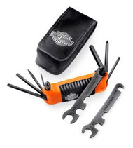 Harley-Davidson® All-in-One Folding Tool, Ideal Traveling Companion 94435-10 - Wisconsin Harley-Davidson