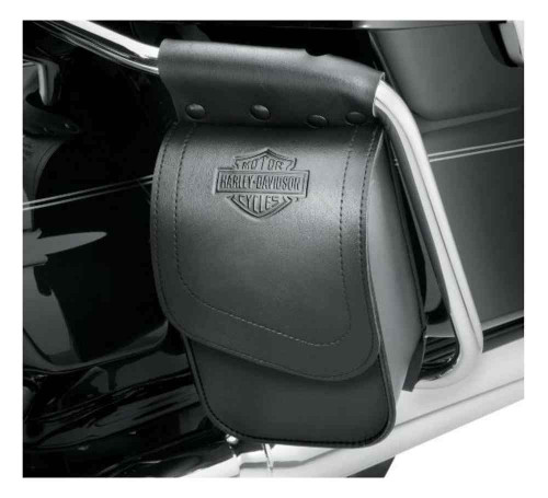Harley-Davidson® Bar & Shield Touring Saddlebag Guard Bag, Left Side 93300063