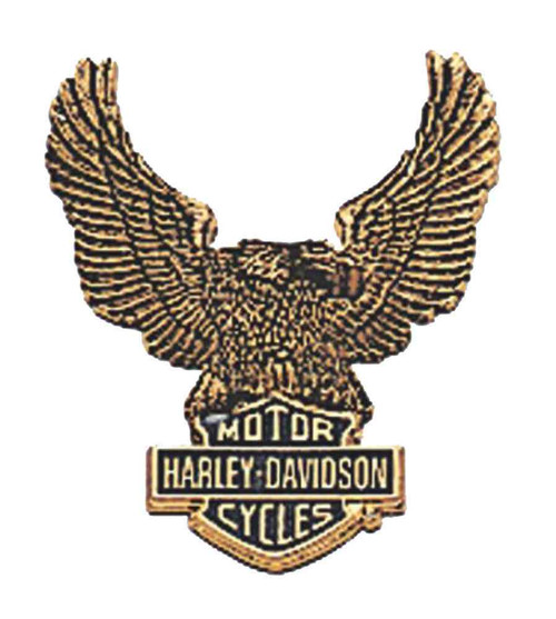 Harley-Davidson® Eagle Bar & Shield Logo Self-Adhesive Medallion, Large 91811-85