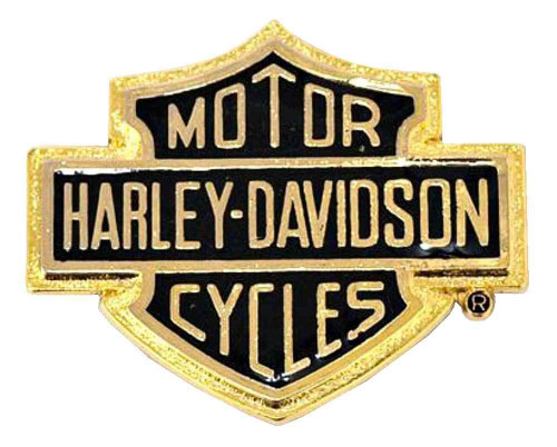 harley-davidson® bar & shield logo self-adhesive medallion, small