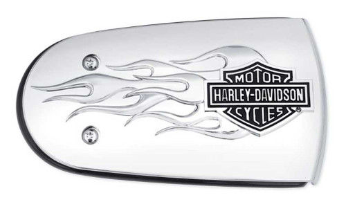 Harley-Davidson® B&S Flames Air Cleaner Trim, Fits Softail & Etc. Models 61300221