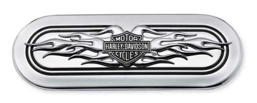 Harley-Davidson® B&S Flames Transmission End Cover Trim, Twin-Cam Models 60845-11