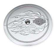 Harley-Davidson® B&S Flames Air Cleaner Trim, Fits Dyna & Etc. Models 29430-06