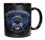 Harley-Davidson® Police Original Ceramic Coffee Mug, 11 oz. Black CM126389