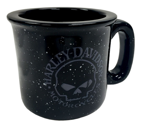 Harley-Davidson® Campfire Willie G Skull Coffee Mug, 12 oz. Black HD-WGS-2206