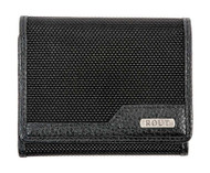 ROUT Competitor Ballistic Tri-Fold Wallet, Full-Grain Leather Trim RBN22051  - Wisconsin Harley-Davidson