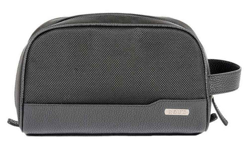 ROUT Explorer Clamshell Toiletry Shave Kit Ballistic Nylon/Leather Trim RBN23074
