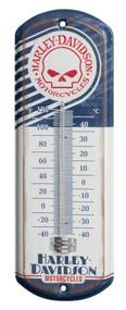 Harley-Davidson® Retro Willie G Skull Mini Thermometer, 4.125 x 12 inch HDL-10099
