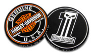 Harley-Davidson® Long Tooth #1 Skull Challenge Coin, 1.75 in Coin, Black 8005023