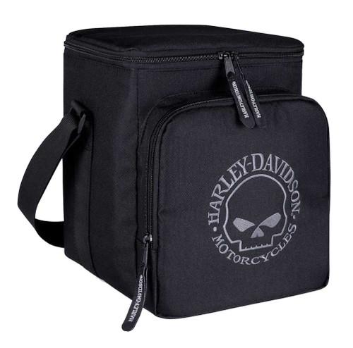 Harley-Davidson® Embroidered Willie G Skull Renegade Tote Cooler, Black 450-00 - Wisconsin Harley-Davidson