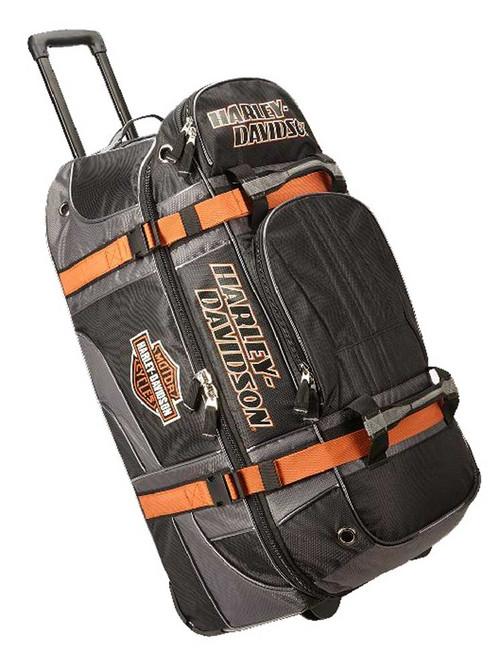 "Harley-Davidson® Bar & Shield Logo 33"" XLG Wheeling Duffel Bag 99410-BLACK"