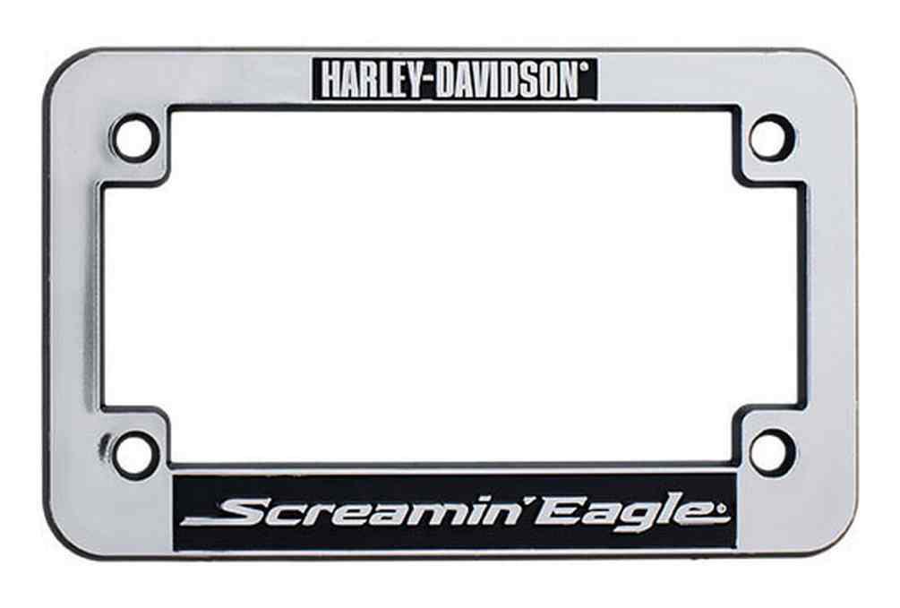 Harley-Davidson® Screamin\' Eagle Motorcycle License Plate Frame ...