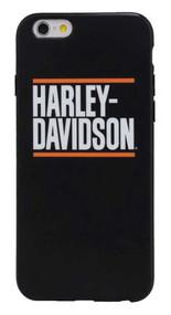 Harley-Davidson® Men's H-D Block Script iPhone 7 Phone Shell, Black 7820