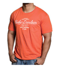 Harley-Davidson® Men's Renowned H-D Script Chest Pocket Short Sleeve T-Shirt