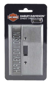 Harley-Davidson® Heavy-Duty H-D Single Switch Plate, Hardware Included HDL-10169 - Wisconsin Harley-Davidson