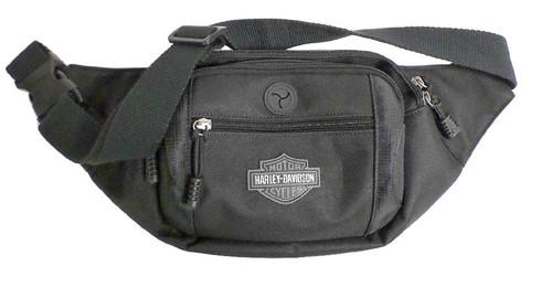 Harley-Davidson® Bar & Shield Logo Crossbody / Waistpack Bag, Black BP2200S-BLACK
