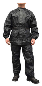 Redline Unisex 2-Piece Motorcycle Rain Suit, Waterproof w/ Heat Seams M-RHR66