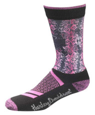 Harley-Davidson® Wolverine Women's Cushion Performance Riding Socks D98098670-650 - Wisconsin Harley-Davidson