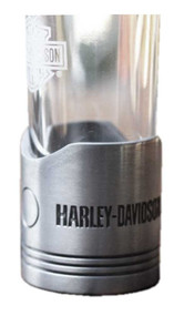Harley-Davidson® Piston Shot Glass Set, Two Hand Blown 2 oz. Glasses HDL-18770