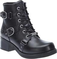 Harley-Davidson® Women's Bonsallo 5-Inch Black Motorcycle Boots D83923 - Wisconsin Harley-Davidson