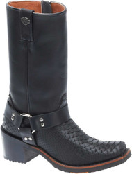 Harley-Davidson® Women's Bleckley 10-Inch Black Motorcycle Boots D83940 - Wisconsin Harley-Davidson