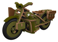 Harley-Davidson® Boy's Buildex Vintage Armed Forces Bike Construction Kit 20376 - Wisconsin Harley-Davidson