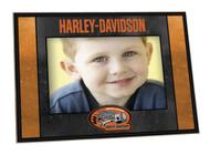 Harley-Davidson® Art-Glass Horizontal Genuine Harley 4 x 6 Photo Frame HD-HDG-245