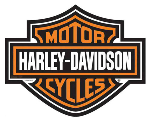 Harley-Davidson® Die Cut Bar & Shield Logo Mouse Pad, Black Neoprene MO30264