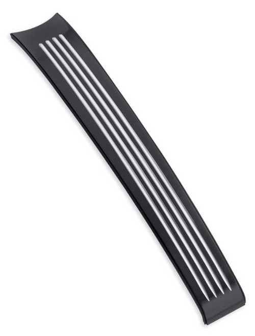 Harley-Davidson® Fuel Tank Trim, Gloss Black Machined, Fits XG Models 61400379