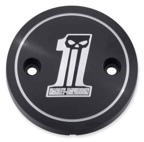 Harley-Davidson® Dark Custom Left Side Medallion, Fits XG Models 25700307