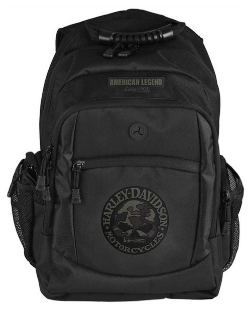 Harley-Davidson® 3D Willie G Skull Classic Camo Backpack, Black BP3025S-CAMBLK - Wisconsin Harley-Davidson