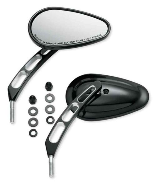 Harley-Davidson® Edge Cut Stem Mirrors, Fits '15-later XG Models 92441-10