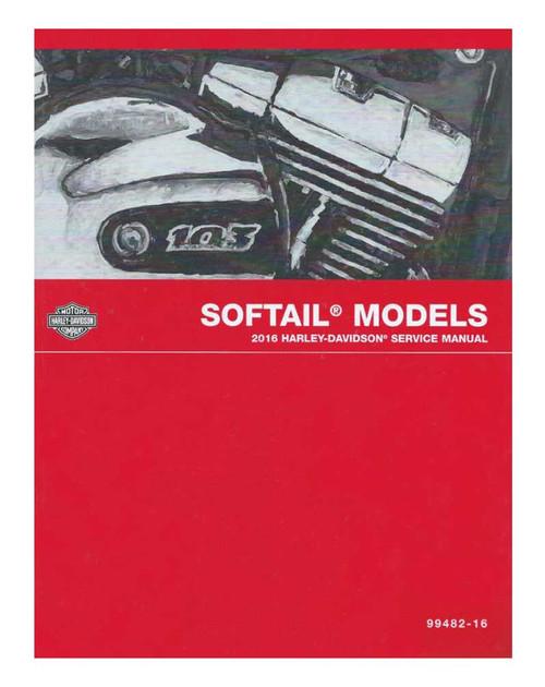Harley-Davidson® 2016 Softail Models Motorcycle Service Manual 99482-16