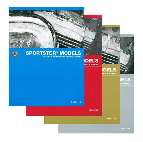 Harley-Davidson® 2016 Street Models Motorcycle Service Manual 99611-16