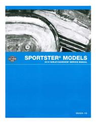 Harley-Davidson® 2016 Sportster Models Motorcycle Service Manual 99484-16A