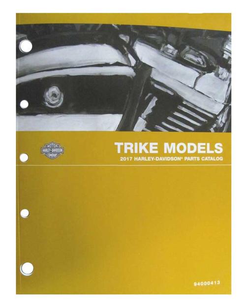 Harley-Davidson® 2017 Touring Trike Models Service Manual Supplement 94000391